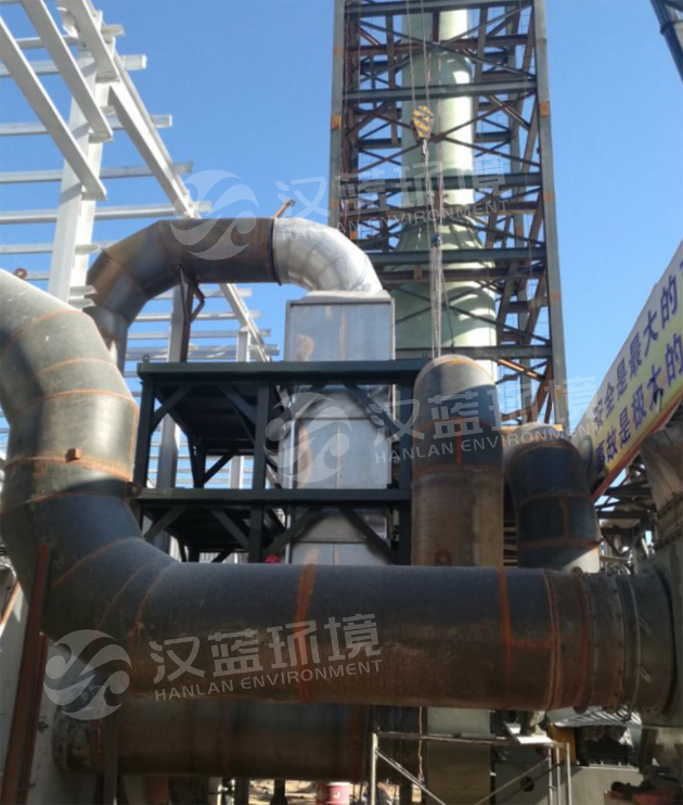 河北汉蓝化肥发酵废气净化设备