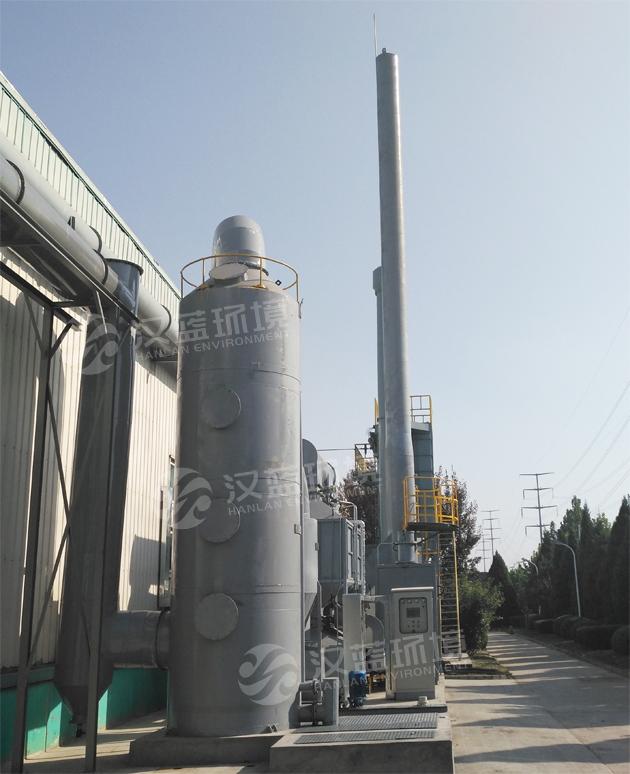 河北汉蓝活性炭吸附脱附+催化燃烧废气处理设备