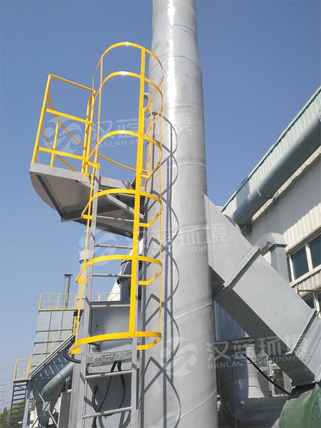 河北汉蓝活性炭吸附脱附+CO催化燃烧废气净化装置