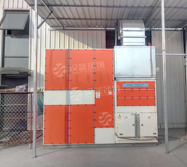 河北汉蓝汽车4s店喷漆VOC废气处理设备