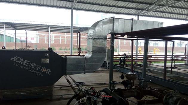 河北汉蓝防水建材废气处理设备