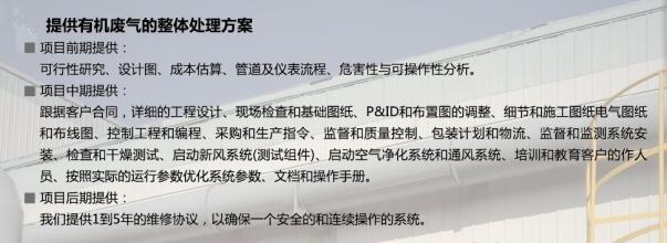 河北汉蓝提供废气治理整套方案