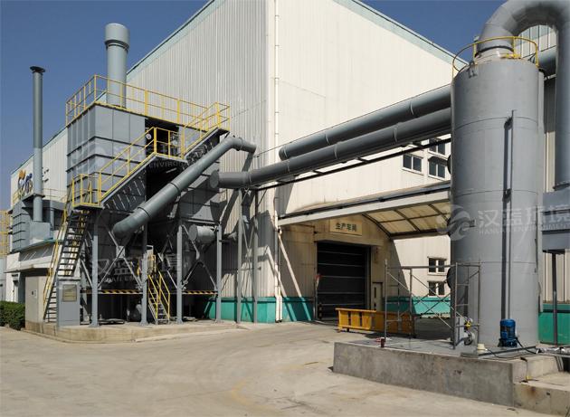 河北汉蓝VOCs有机废气净化设备-活性炭吸附脱附+催化燃烧