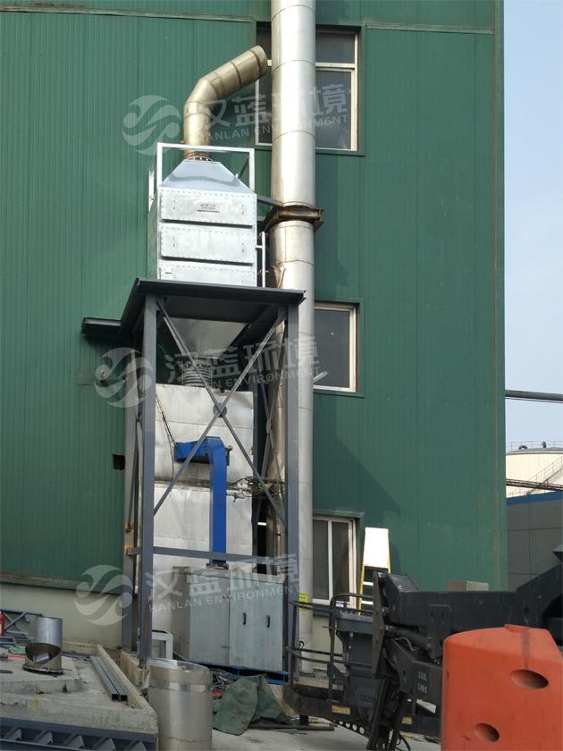 万纯燃油燃气小锅炉SCR脱硝设备