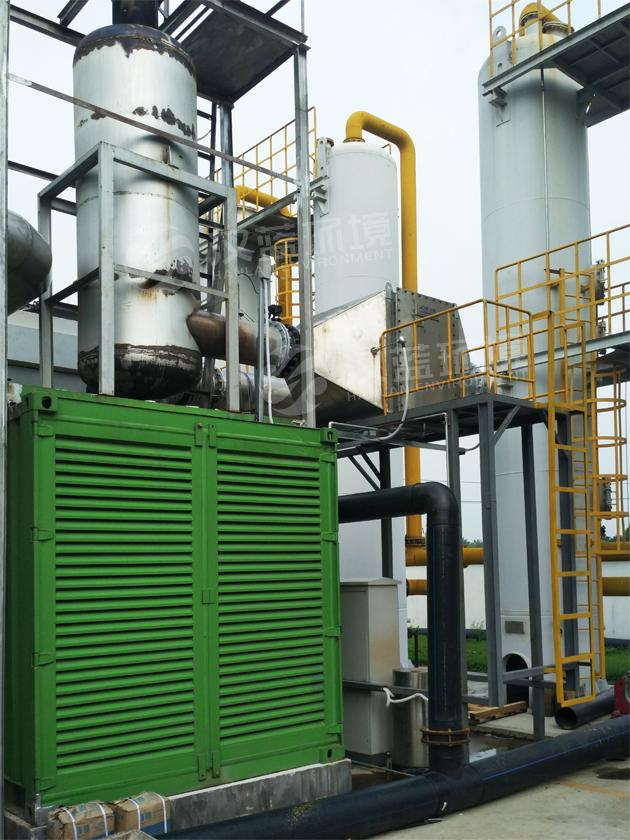 万纯燃气发电机组SCR脱硝工程
