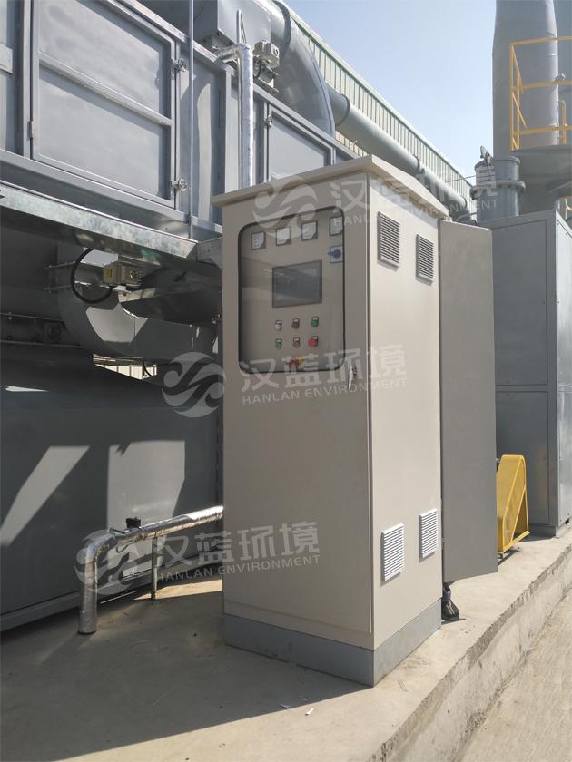 河北汉蓝工业有机废气VOCs处理设备-活性炭吸附脱附+CO