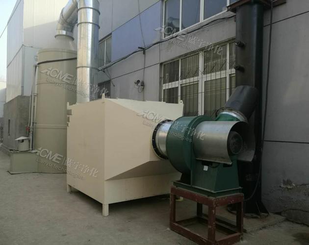 河北汉蓝工业VOCs废气治理项目-喷涂废气处理
