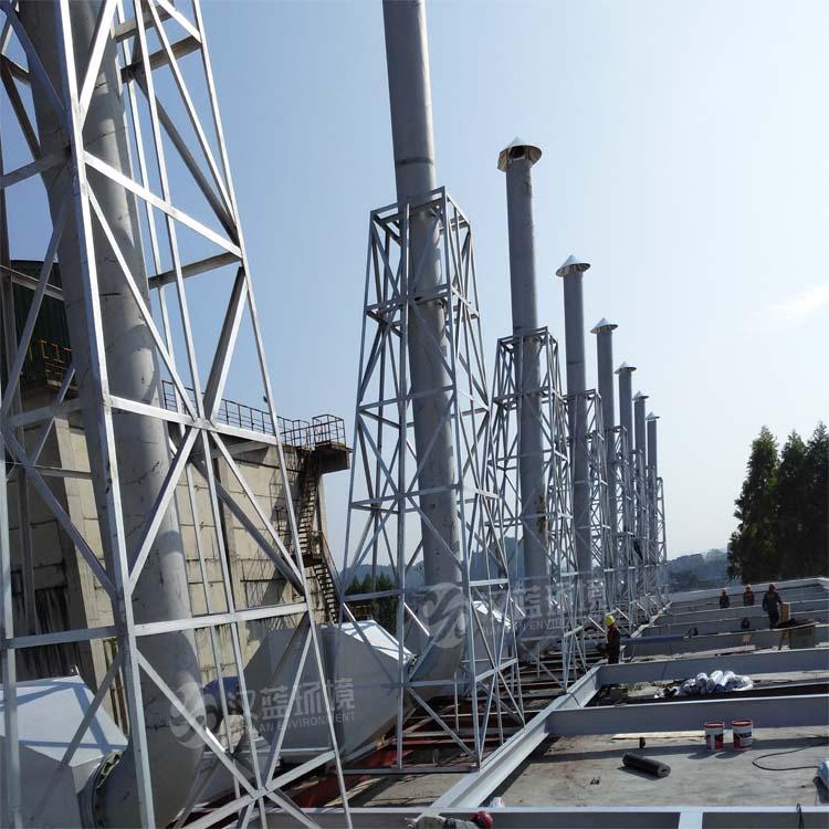 万纯备用柴油发电机组SCR脱硝工程
