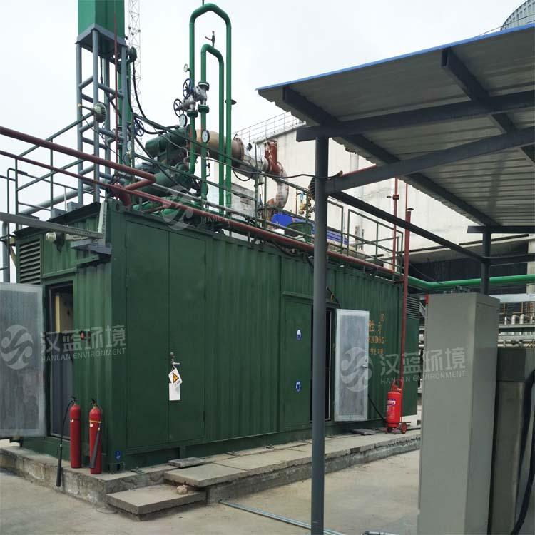 万纯驰放气(高氢气)电站脱硝项目