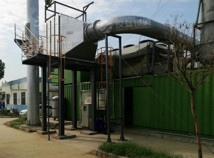 万纯垃圾填埋气发电机组脱硝设备-NOX处理