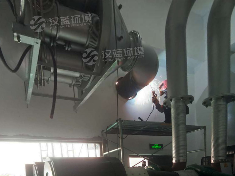 万纯柴油机组黑烟净化器