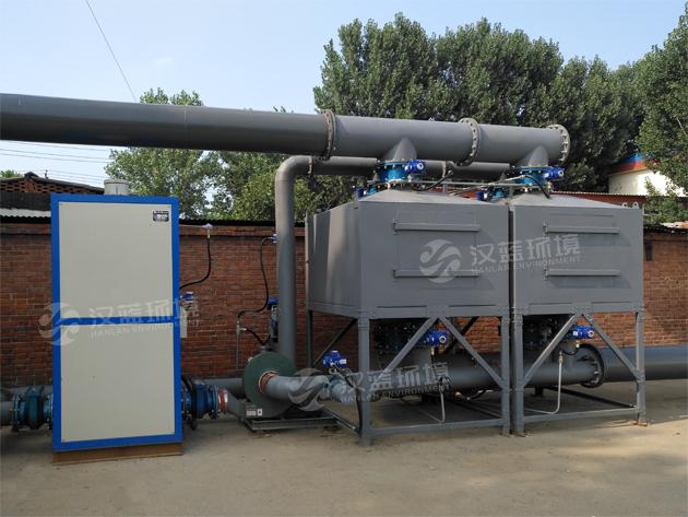 河北汉蓝工业废气催化燃烧设备
