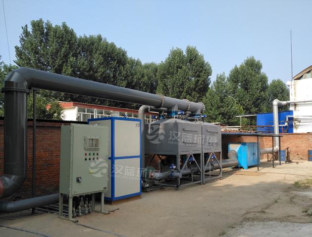 龙8国际娱登录VOCs工业废气治理-催化燃烧设备