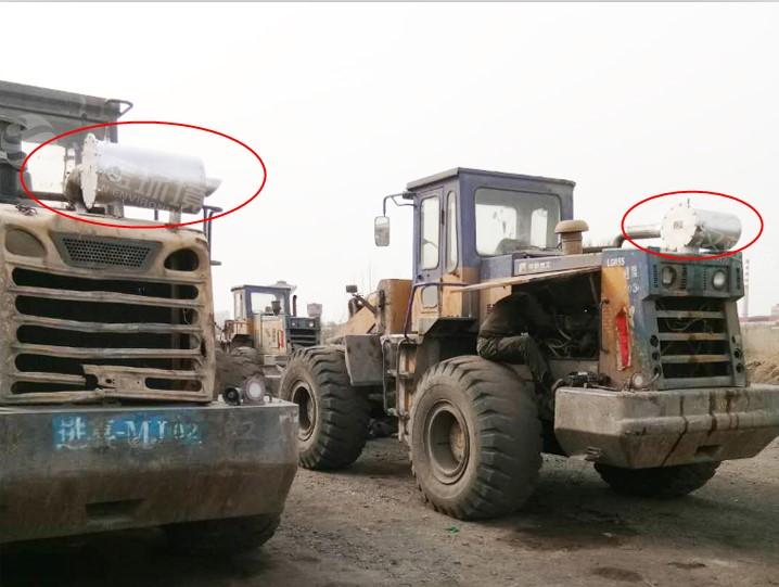 万纯非道路车辆尾气净化装置-工程机械尾气净化器